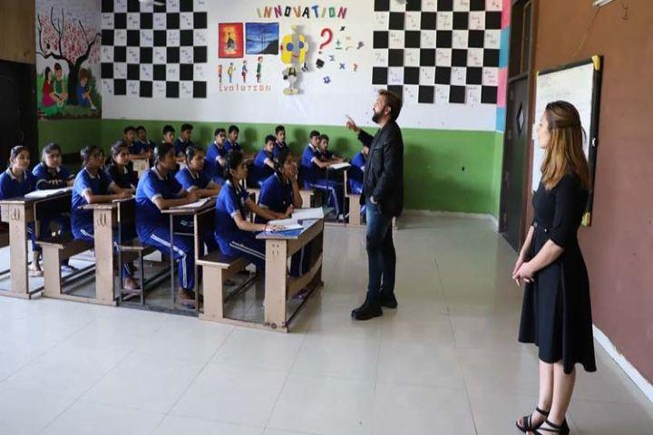 British Fort Foundation-Classroom