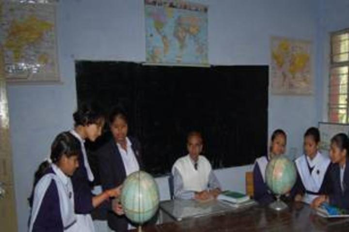 Bsf Senior Secondary School-Geography Lab