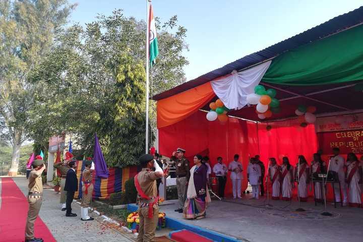 Bsf Senior Secondary School-Republic Day Celebration