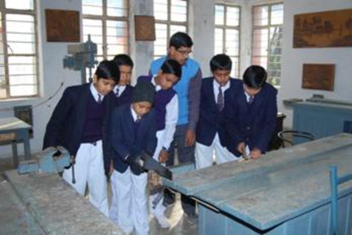 Bsf Senior Secondary School-Wood Craft Section