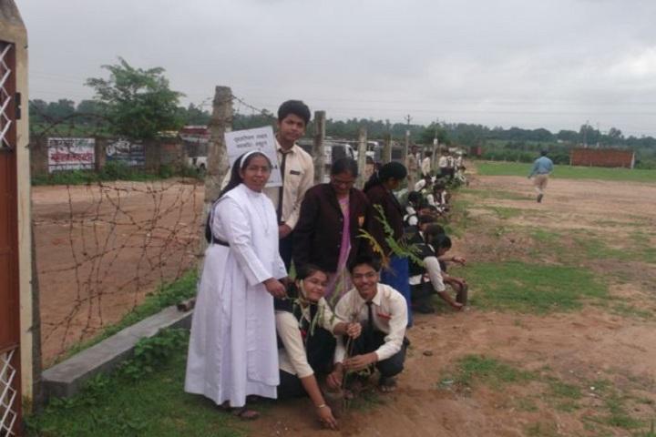 Carmel Convent Higher Secondary School-Tree Plantation