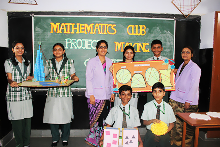 Carmel Convent Senior Secondary School-Maths Lab