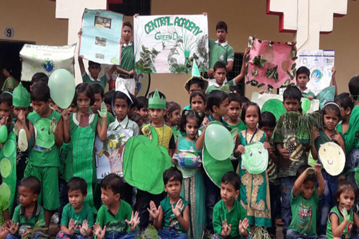 Central Academy English Medium School-Green Day