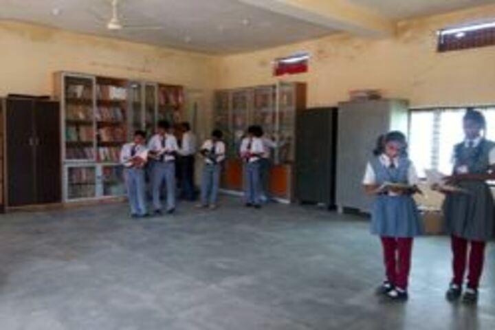 Central Academy English Medium School-Library