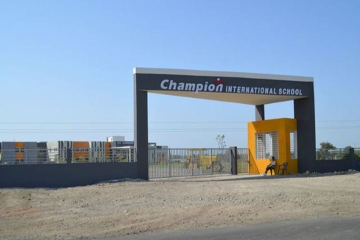 Champion International School-Campus Entrance