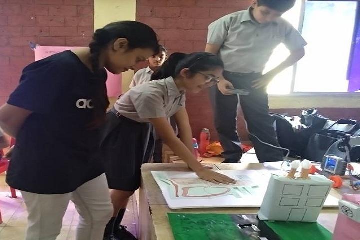 Choithram School-Science Exhibition