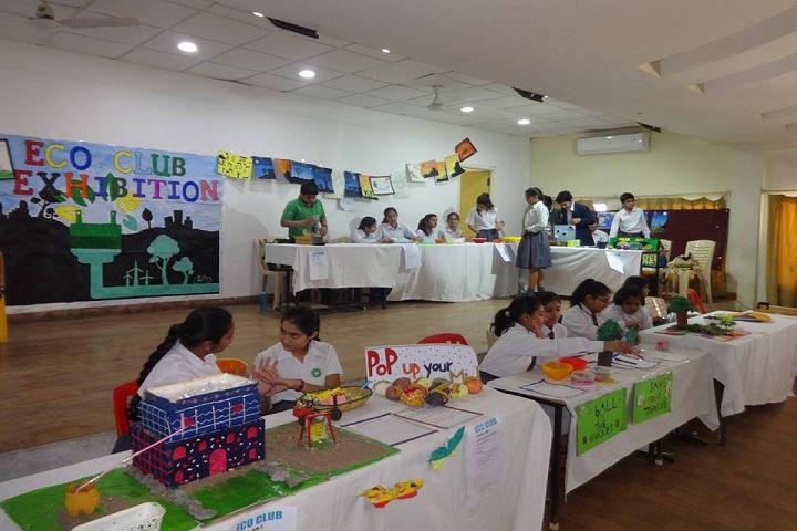 Choithram School North Campus - Eco Club Exibition