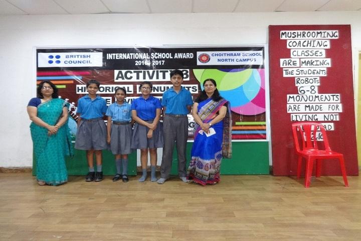 Choithram School-Inter House Debate