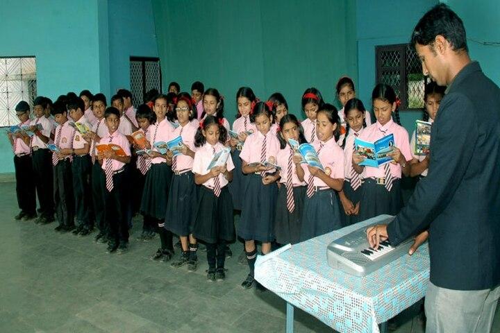 Christ Convent School-Music room