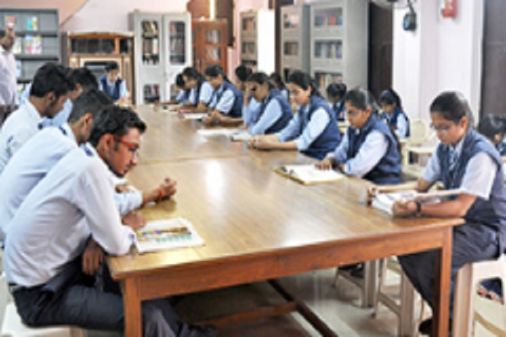 Christ Jyoti Higher Secondary School-Library