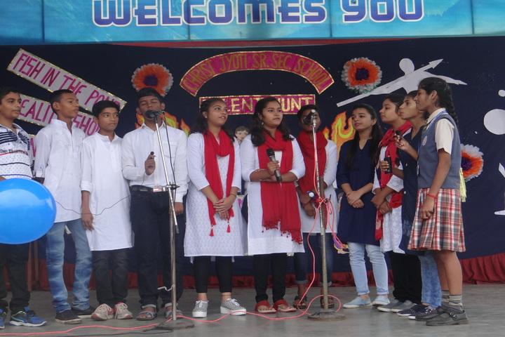 Christ Jyoti School-Group Song