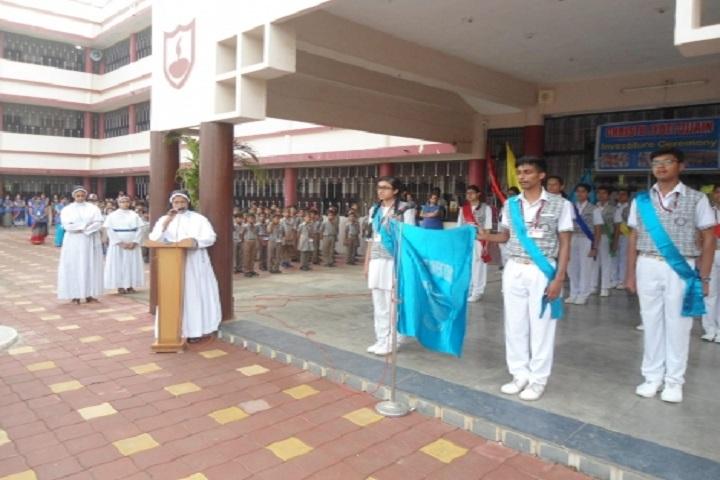 Christu Jyoti Convent School-Investiture Ceremony