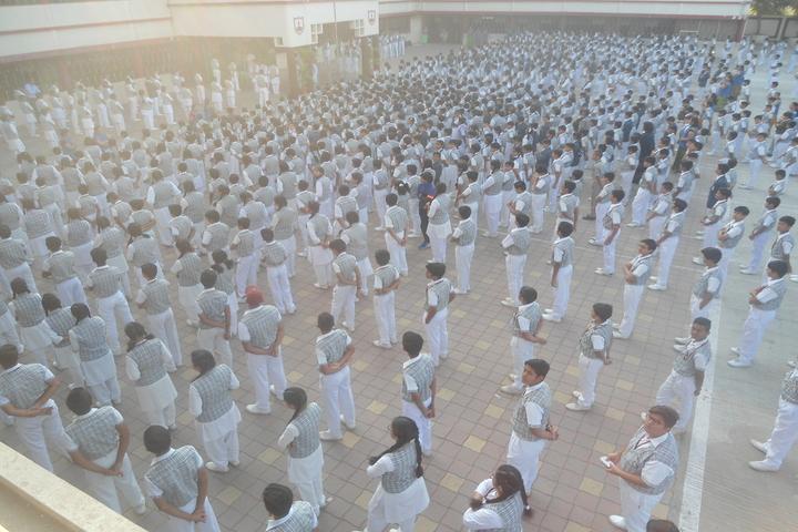 Christu Jyoti Convent School-Assembly