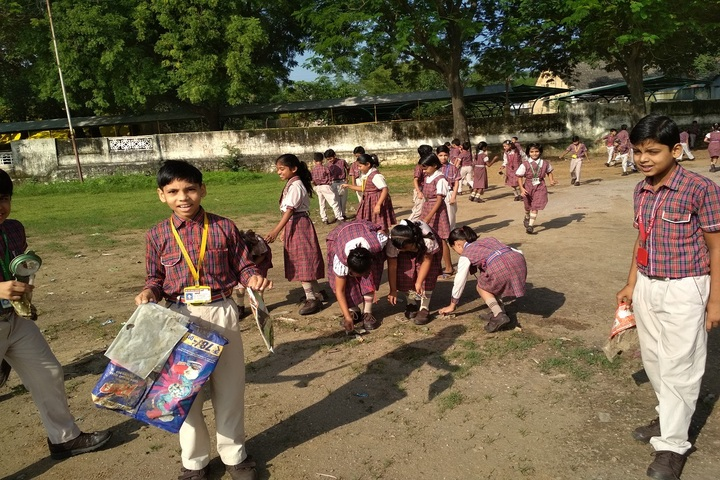 DAV ACC Public School-Cleaning