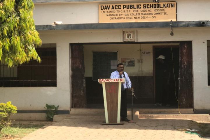 DAV ACC Public School, Katni - School