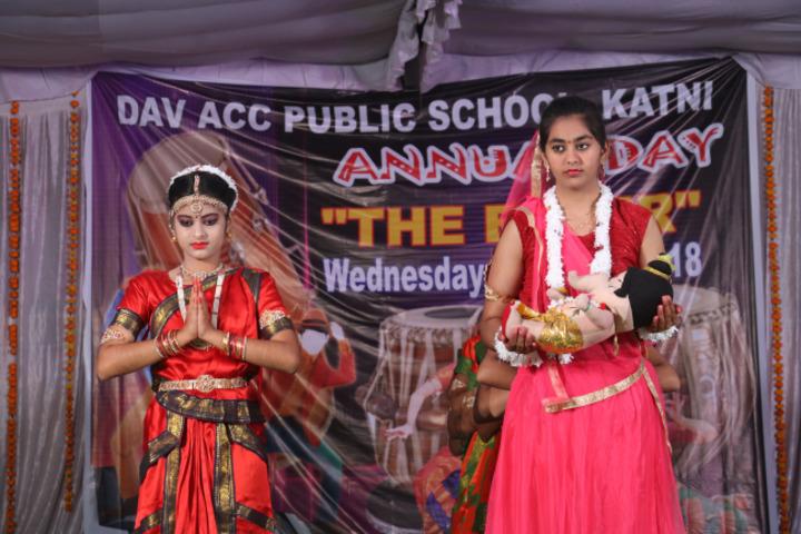 DAV ACC Public School, Katni - annual day1