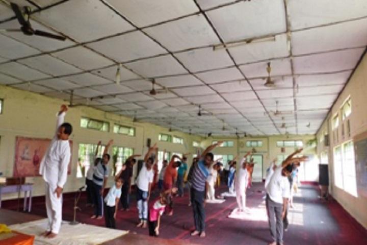 Vivekananda Kendra Vidyalaya Nec-Yoga Day