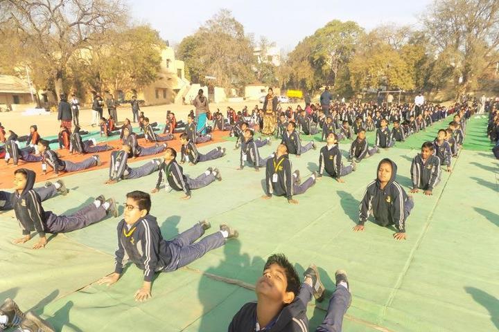 Dashpur Vidyalaya-yoga