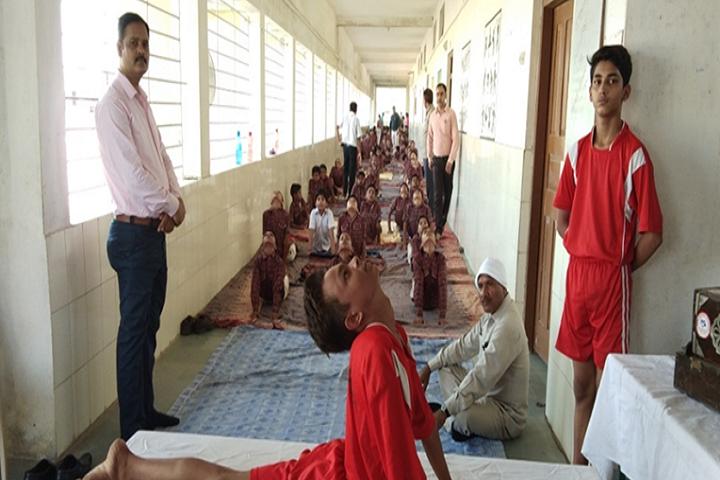 DAV Public School, Waidhan - Yoga day