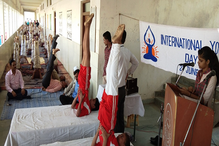 DAV Public School-Yoga Class