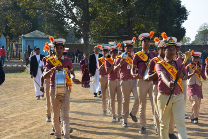 De Paul School-March Past