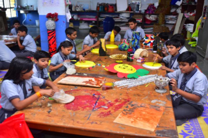Delhi International School-Art and Craft