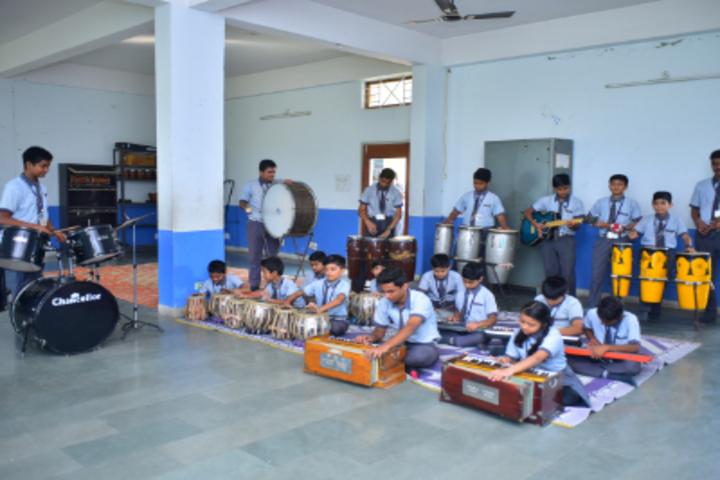 Delhi International School-Music Room