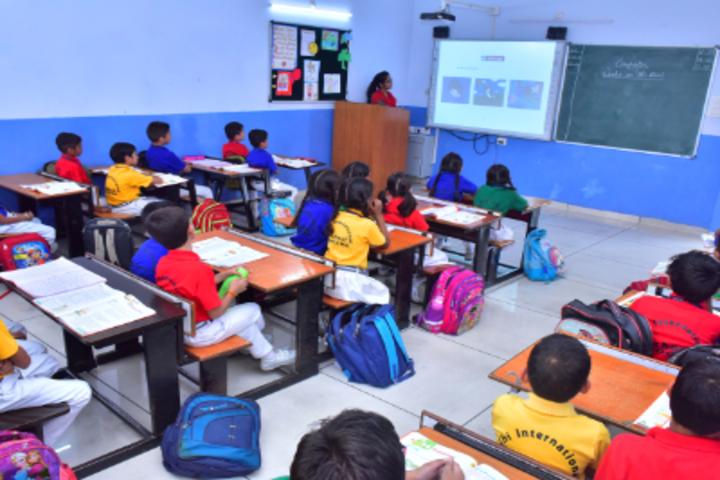 Delhi International School-Smart Class