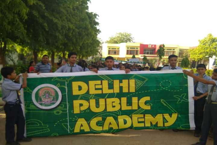Delhi Public Academy-Awareness Rally
