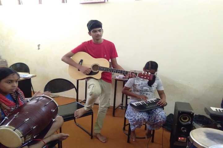 Delhi Public Academy-Music Class