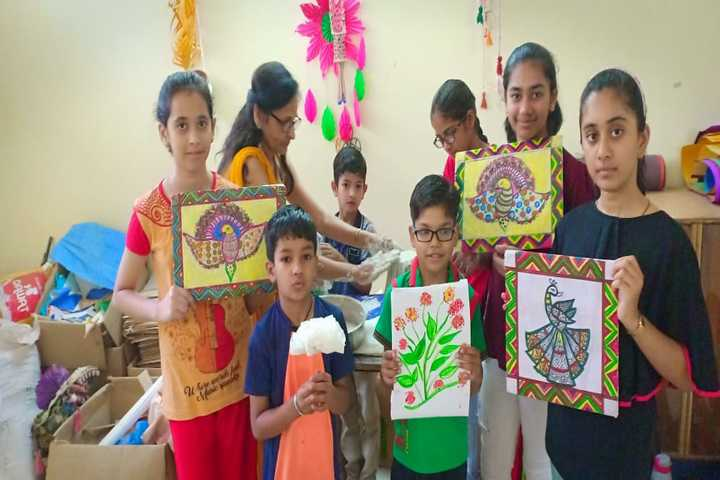 Delhi Public Academy-Paintaing