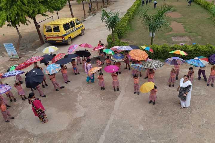 Delhi Public Academy-Rain Activity