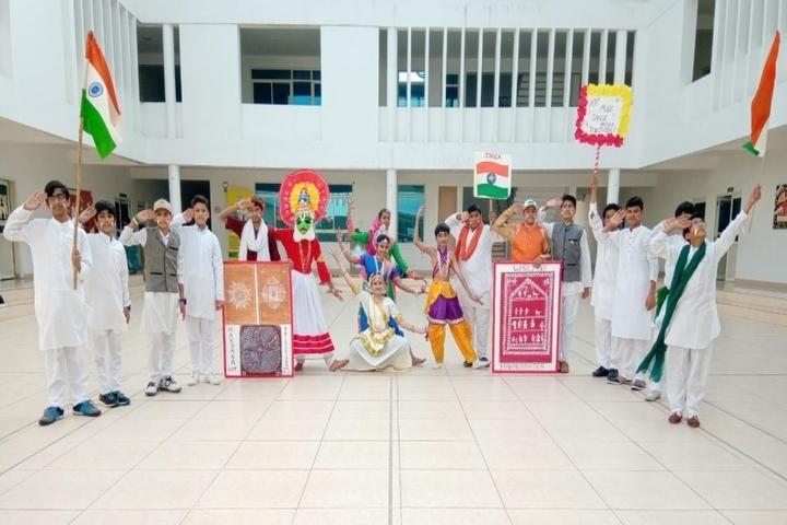 Delhi Public School Ujjain-Republic day Celebration