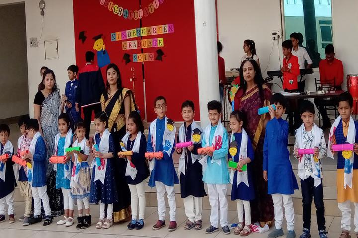 Delhi Public School-Kindergarten Graduation day