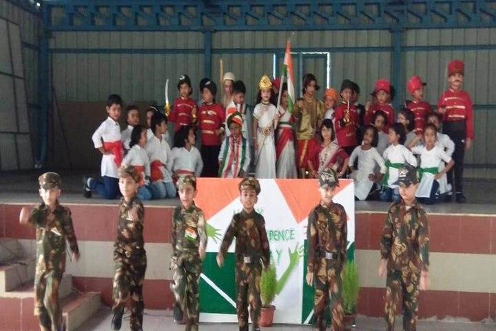 Delhi Public School-Independence day Celebration