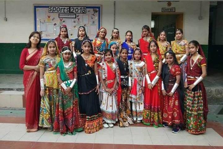 Delhi Public School-Traditional day