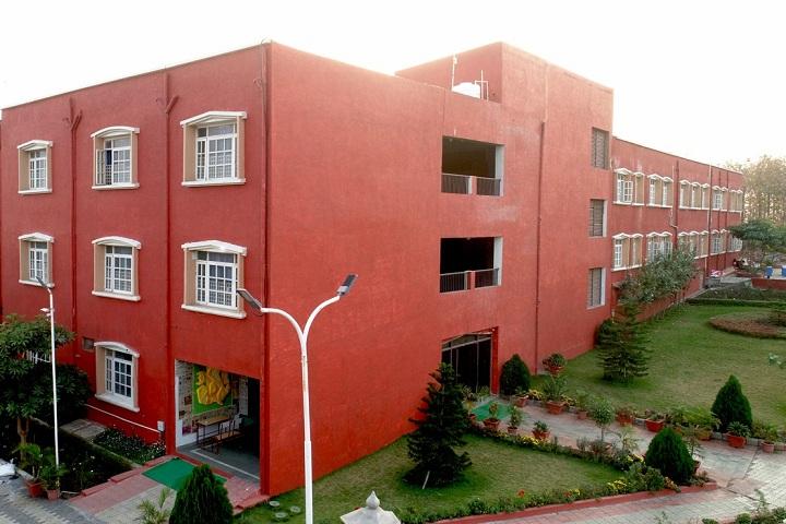 Delhi Public School-Campus-View Front