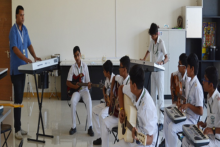 Delhi Public School-Music Room