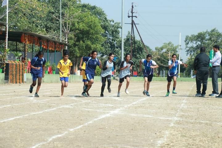 Demonstration School-Sports Running