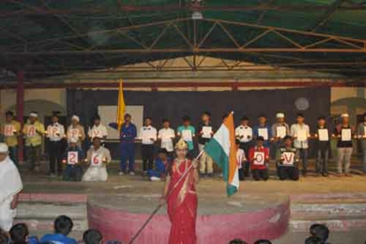 Don Bosco Public School-Republic day Celebration