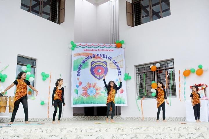 Doon World Public School-Independence Day Celebration