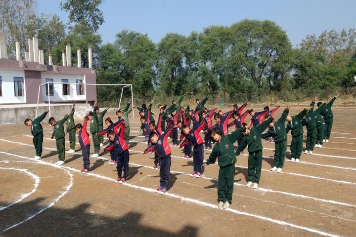 Doon World Public School-Yoga