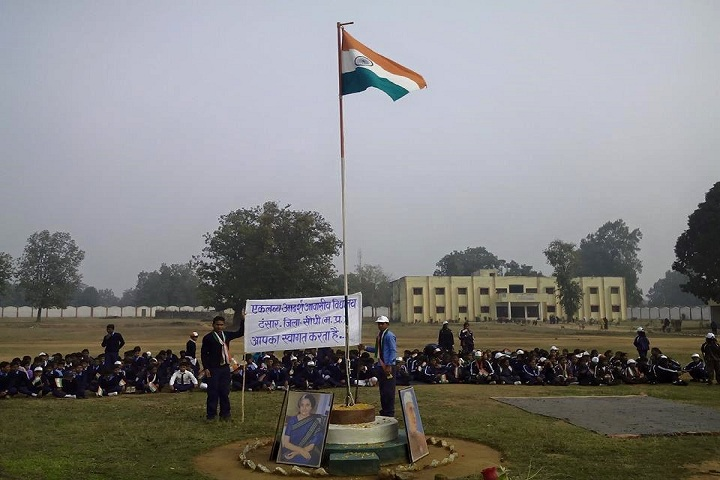Eklavya Model Residential School-Independence Day
