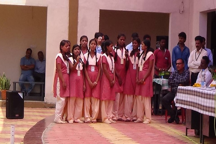 Eklavya Model Residential School-Events singing