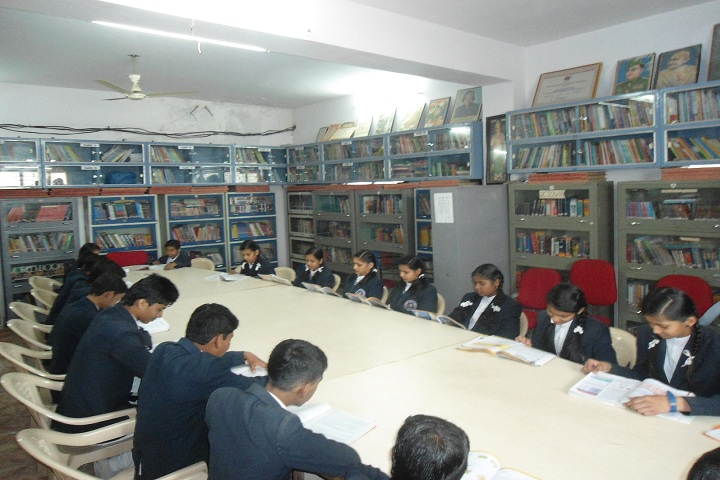 Eminent Public School-Library with reading room