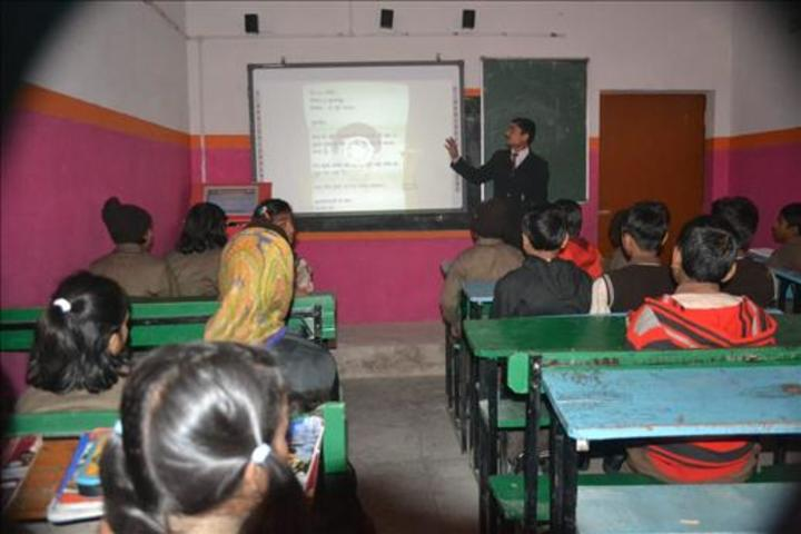 Acharya Sudarshan Vidyapeeth-Smart-Classroom