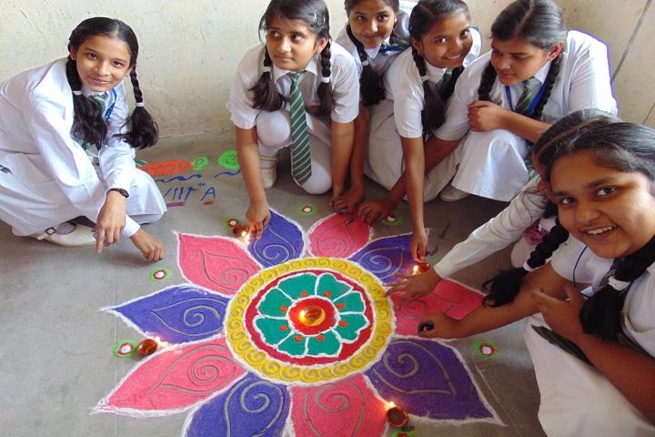 G C M Convent School-Events diwali