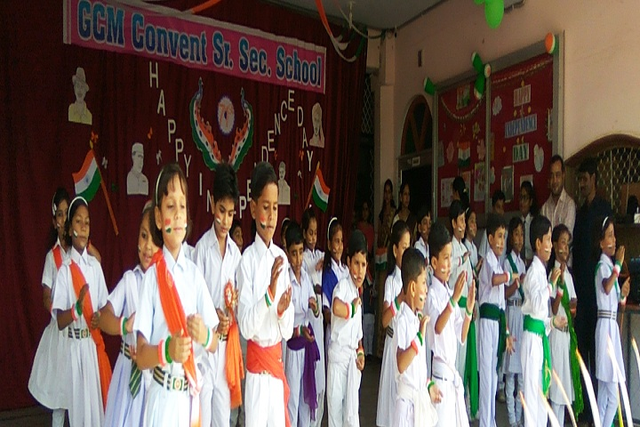 G C M Convent School-Events independance day