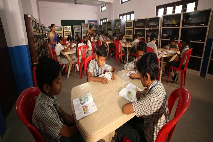 G C M Convent School-Library