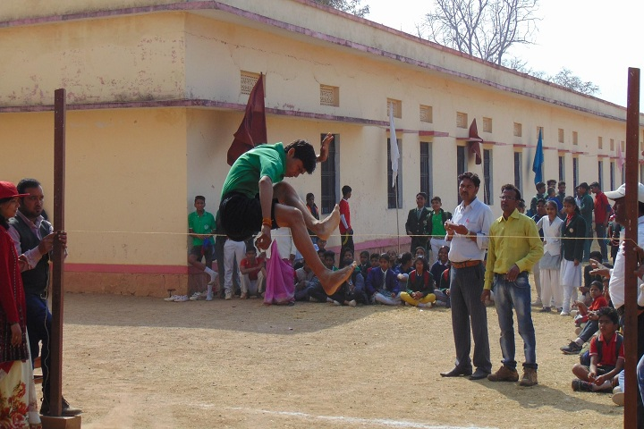 G C M Convent School-Sports jump